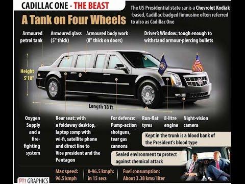 Presidential Car Of Us President Barack
