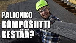 Terassin Rakennus Cent Komposiittilaudasta Taloon.com