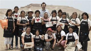 Archeologist Helps Poor Site Communities Thrive