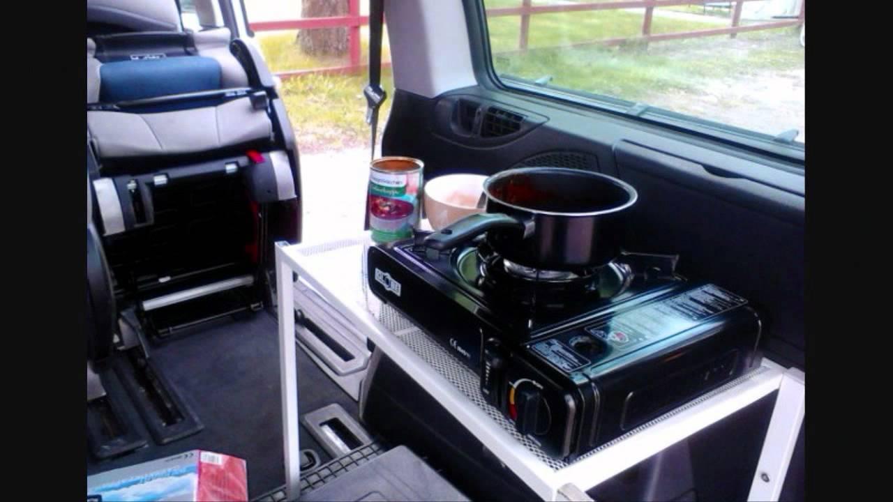 Citroen C8 Camping Youtube