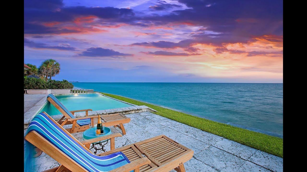 Casey Key Rd Beachfront Home On Florida