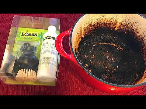 BIG MESS: Lodge Enameled Cast Iron Care Kit Review