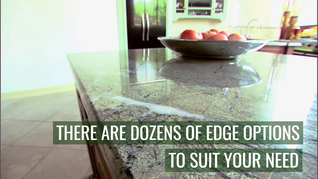 The Kitchen Man Edge Detail Wilmington Nc Countertops