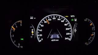 ACCELERATION 0-180 KM/H 2018 Jeep Grand Cherokee 3.0 V6 MultiJet 184 kW (250 Hp)