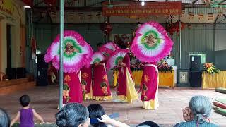 Múa hội làng 15 phú xá tn