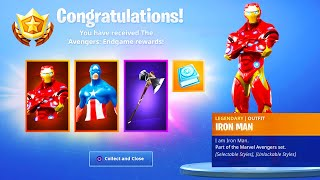The New AVENGERS EVENT REWARDS in Fortnite..