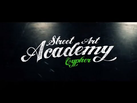 Street Art Academy Cypher - Black Box - Green edition