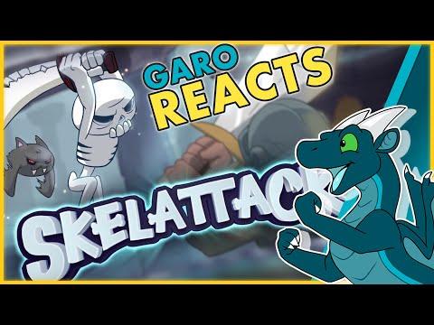 Skelattack Launch Trailer! Reaction | GaroShadowscale Reacts | Analysis and Reacting |