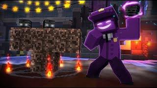 Purple Guys Evil Monster! - (Minecraft FNAF Roleplay)