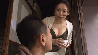Japanese Family Vlog - Cute Wife with grandfather