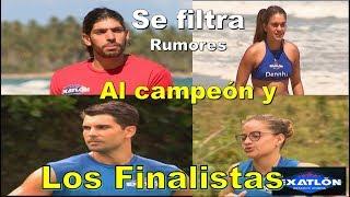 Se filtra al campeon y finalistas Exatlon Estados Unidos Rumores Dennhi Valeria Andony y Jacobo