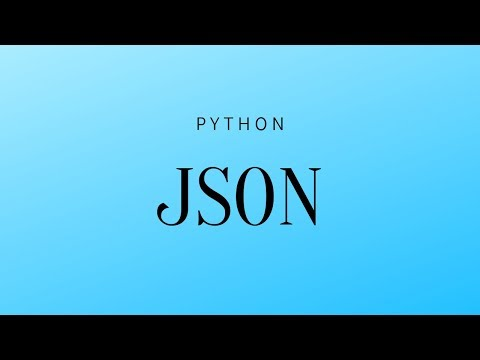 How to Convert JSON Data Into a Python Object - YouTube
