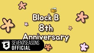 Block B 8th Anniversary