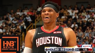 Houston Rockets vs Toronto Raptors - 1st Half Highlights | October 8, 2019 NBA Preseason