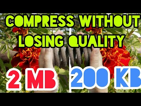 How to Compress Photo on Android - without losing Quality||Reduce Image file size by 80℅-Guarented||
