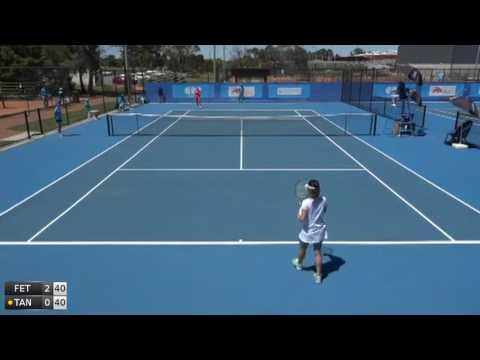 Fett Jana v Tanaka Yuuki - 2016 ITF Canberra