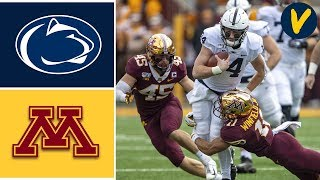 Download #4 Penn State vs #17 Minnesota Highlights | Week 11 | College Football 2019 Mp3 and Videos