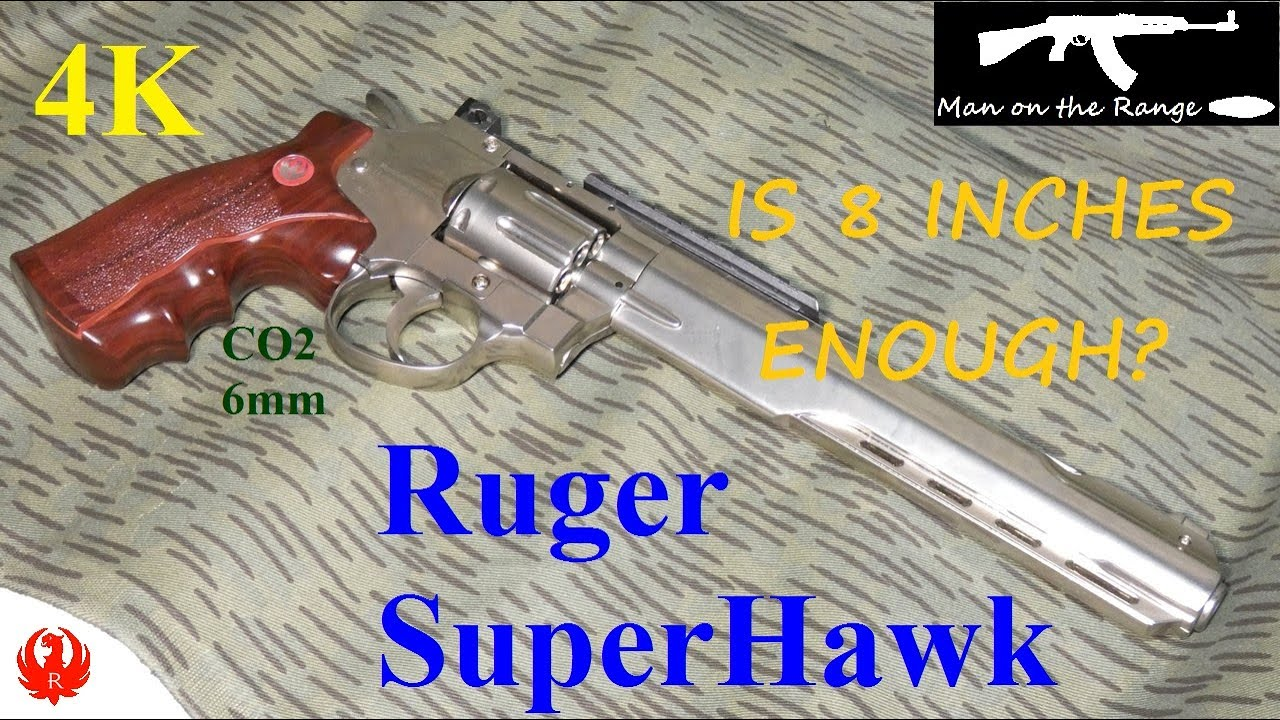 Download Ruger SuperHawk Is 8 inches enough (4K)
