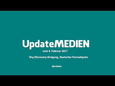 Update MEDIEN – 4. Februar 2017: Sky/Discovery-Einigung, Deutscher Fernsehpreis