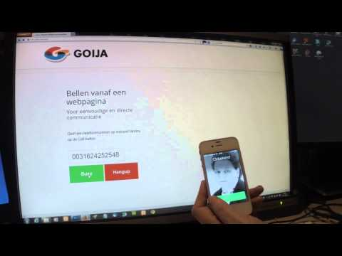 phone call webrtc demo