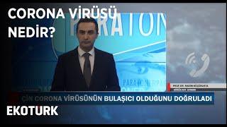 Corona Virüsü Nedir? | Prof. Dr. Rasim Küçükusta | 21 ocak 2020