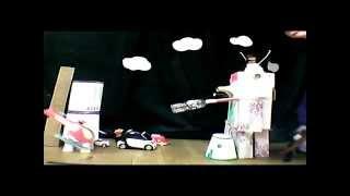 croydon rocket - Lives Not Knives Makeathon Stop Motion Animation