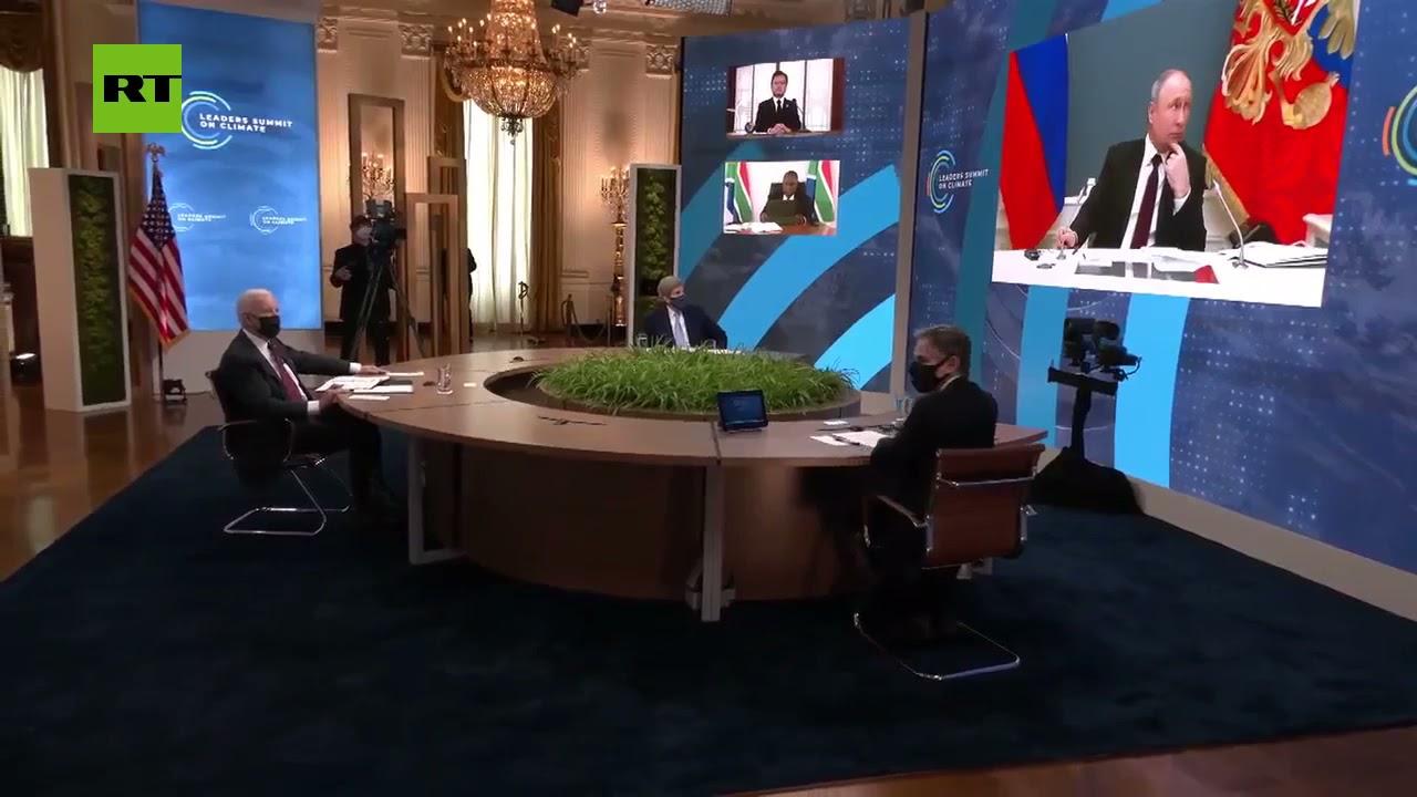بسبب خطأ فني .. ظهور بوتين خلال بث كلمة ماكرون في قمة المناخ  - نشر قبل 2 ساعة
