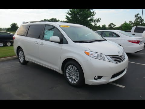 2016 Toyota Sienna Xle Full Tour Start Up At Mey