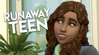 ROMANCE FESTIVAL  The Sims 4 Runaway Teen Challenge 4