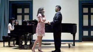 Video Paula Fernandez-Baca and Andrew Lelin Singing Tonight download MP3, 3GP, MP4, WEBM, AVI, FLV Juli 2018