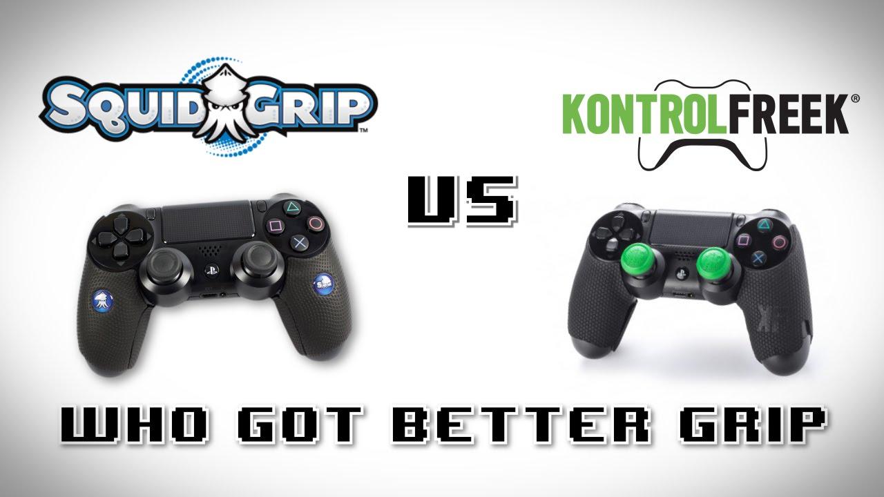 kontrolfreek grips ps4  Squid Grip vs Kontrol Freek Grip [PS4] - YouTube