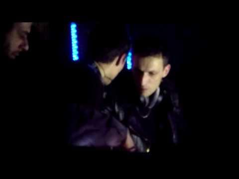 Johnny Hostile & Jehnny Beth [Savages] (live act, PlanoB, Porto, 21 Fevereiro 2014)