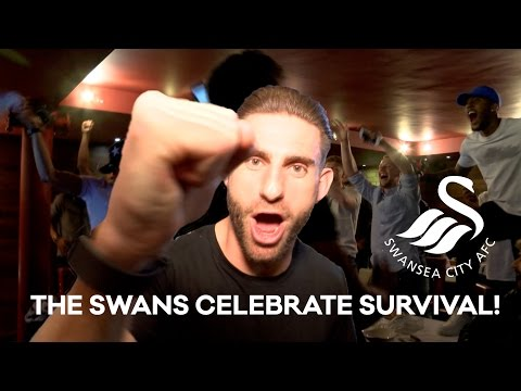 Swans TV - Swans Celebrate Staying Up!