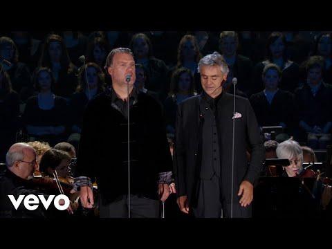 Andrea Bocelli and Bryn Terfel: Au Fond Du Temple Saint - from Bizet's Les pêcheurs de.