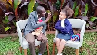 Njugush meets Ellyanne Wanjiku. What is blue economy???