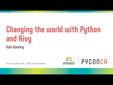 Image from Changing the world with Python and Kivy
