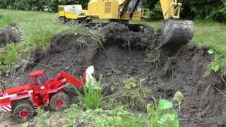 CONSTRUCTION SITE L RC MINE L RC DIGGER AND RC WHEEL LOADER L