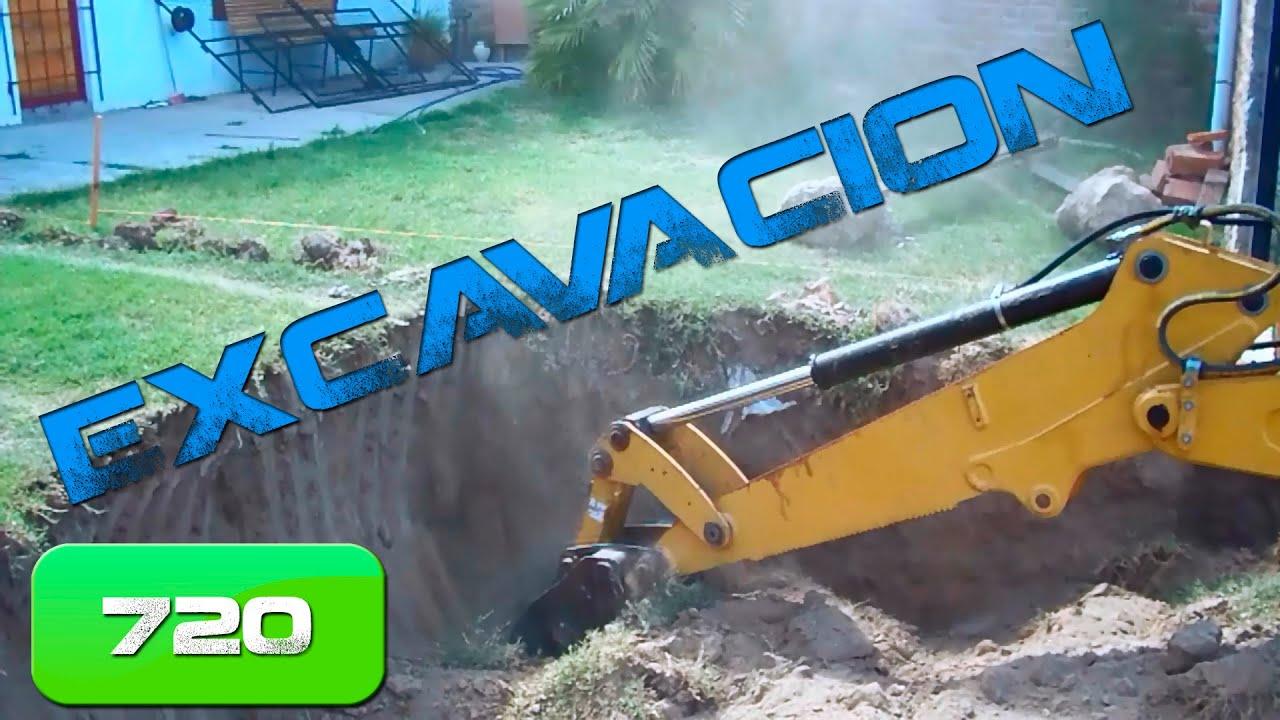 Como construir un garage subterr neo parte 1 youtube - Cuanto cuesta el material para construir una casa ...