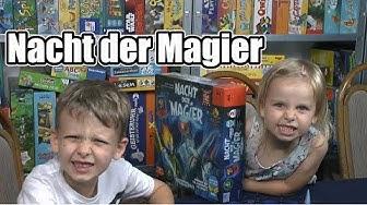 Nacht der Magier (Drei Magier / Schmidt) - ab 6 Jahre - Was für ein cooles Spiel im Dunkeln!