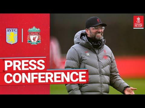 Jürgen Klopp's pre-match press conference   Aston Villa