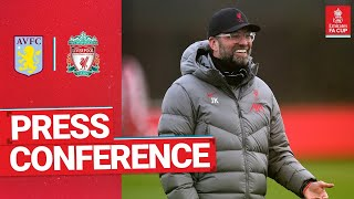 Jürgen Klopp's pre-match press conference | Aston Villa