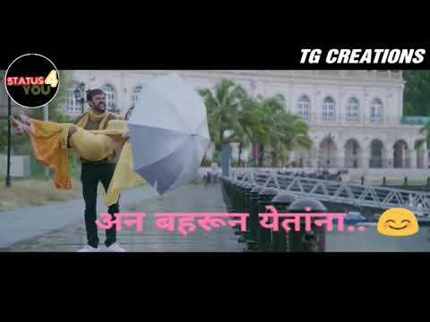 Tu pari new marathi whatsapp status BUCKET LIST new😘
