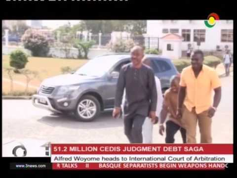 Alfred Woyome heads to international Court of Arbitration  - 8/4/2017
