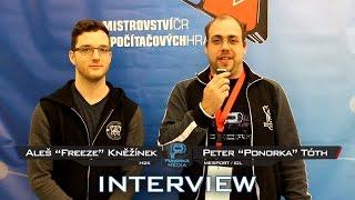 MČR 2016 - Freeze interview [H2K]