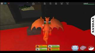Roblox Pokemon PVP ¦ I'm a Charizard!