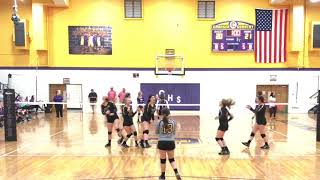 Laynee Dew 2020 OH/RS Volleyball Highlights from Halls High School 2018 Season