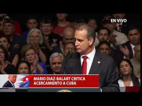 Discurso completo del representante, Mario Díaz-Balart