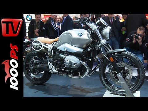 BMW G310 | BMW R nineT Scrambler - First Look 2016 Foto
