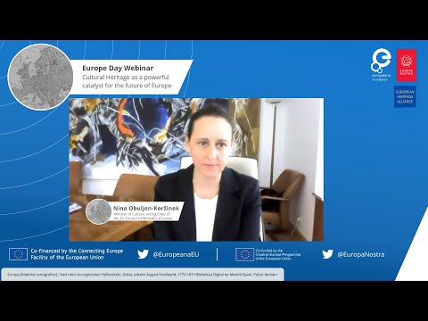 Europe Day 2020 Webinar: Nina Obuljen-Korzinek