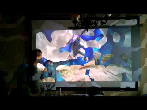 Серый проекционный экран своими руками (демонстрация)